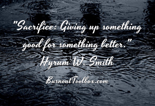 give up good for better